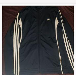 Navy Adidas sweatsuit